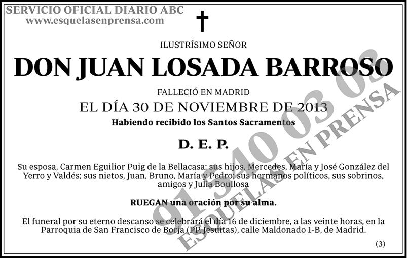 Juan Losada Barroso